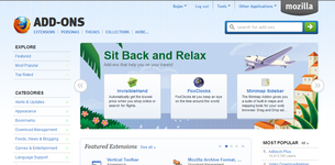 Firefox add-ons site image