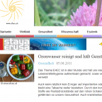 Screenshot: Ahau - Homepage
